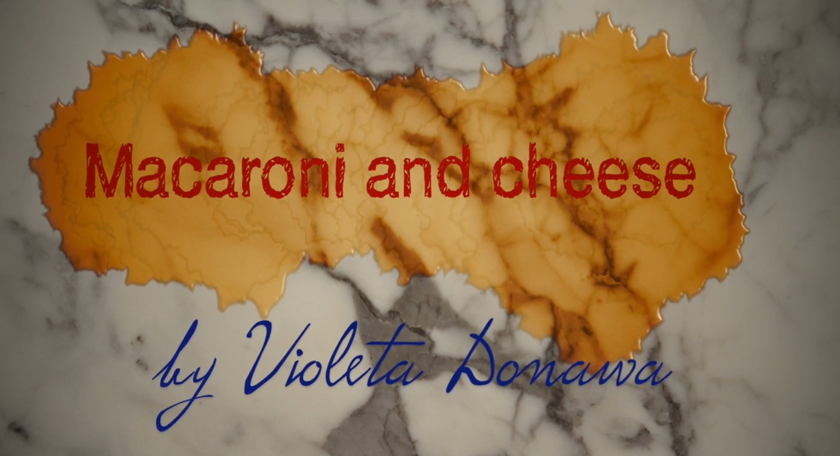 Header Mom's Cheese Macaroni by Violeta Donawa