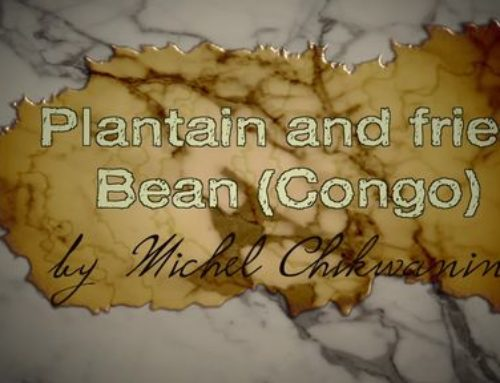 Plantain and Beans by Michel Chikwanine
